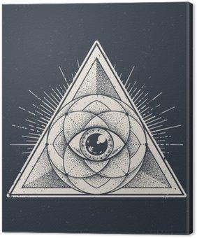 Canvastavla Sakral geometri