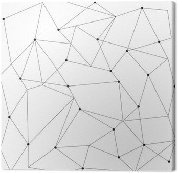 Canvastavla Scandinavian geometrisk modern seamless