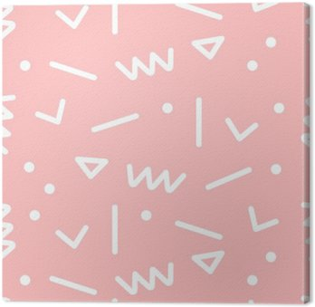 Canvastavla Seamless geometriskt mönster