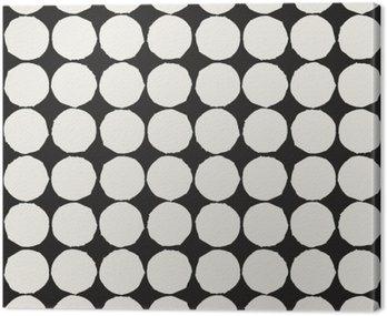 Canvastavla Seamless grafiska geometriska element