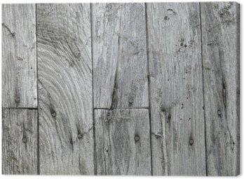 Canvastavla Slitet trä