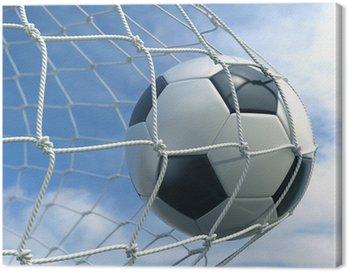 Canvastavla Soccer i netto