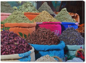 Canvastavla Spezie Marocchine