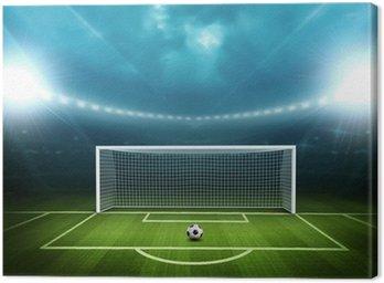 Canvastavla Stadium med fotboll