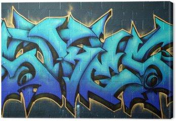 Canvastavla Street Graffiti Spraypaint