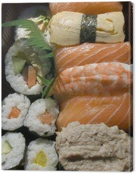 Canvastavla Sushi bento