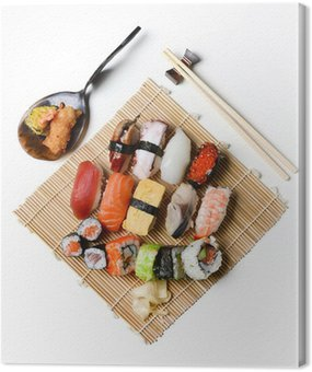 Canvastavla Sushi lunch