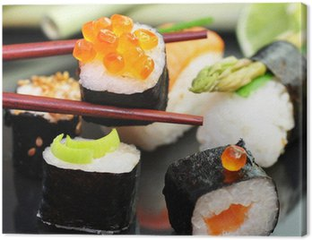 Canvastavla Sushi