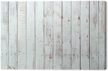 Canvastavla Svart och vit bakgrund av planka