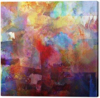 Canvastavla Texturer målning