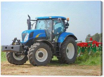 Canvastavla Traktor