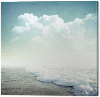 Canvastavla Tropisk bakgrund
