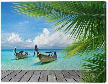 Canvastavla Tropiska hav