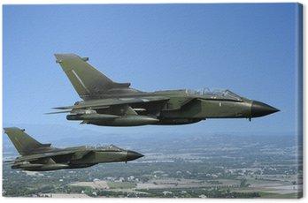 Canvastavla Två stridsflygplan