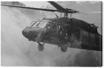 Canvastavla UH-60 Blackhawk helikopter