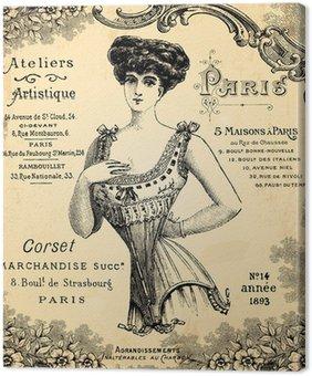 Canvastavla Verkstads corseterie