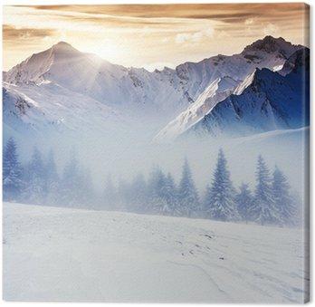 Canvastavla Vinter