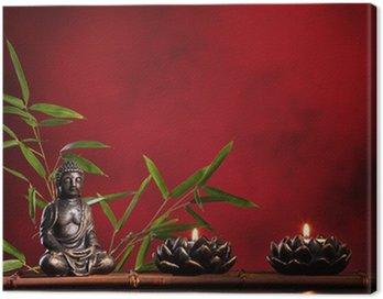 Canvastavla Zen konceptet.
