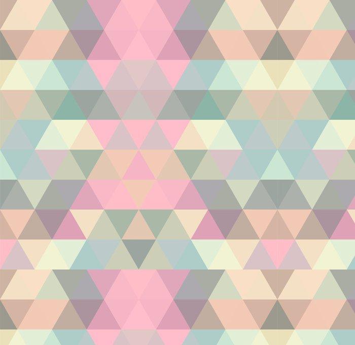 Carta da parati a motivi in vinile mosaico triangolo for Carta da parati vinile