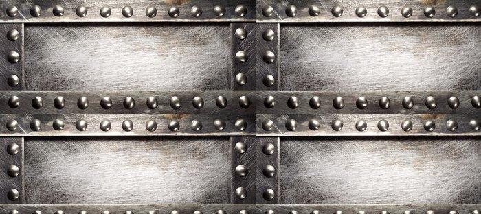 Carta da Parati a Motivi in Vinile Piastra metallica - Stili