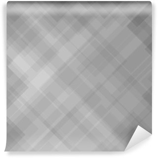 Carta da Parati in Vinile Abstract Pattern Grigio