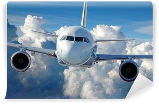 Carta da Parati in Vinile Aereo di linea commerciale in volo