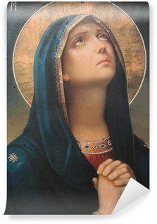 Carta da Parati in Vinile Antica icona religiosa
