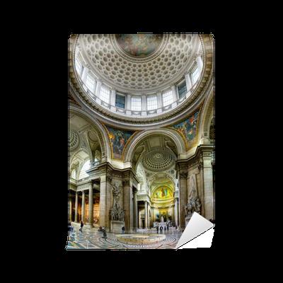 Carta da parati architettura antica del pantheon a parigi for Architettura a parigi