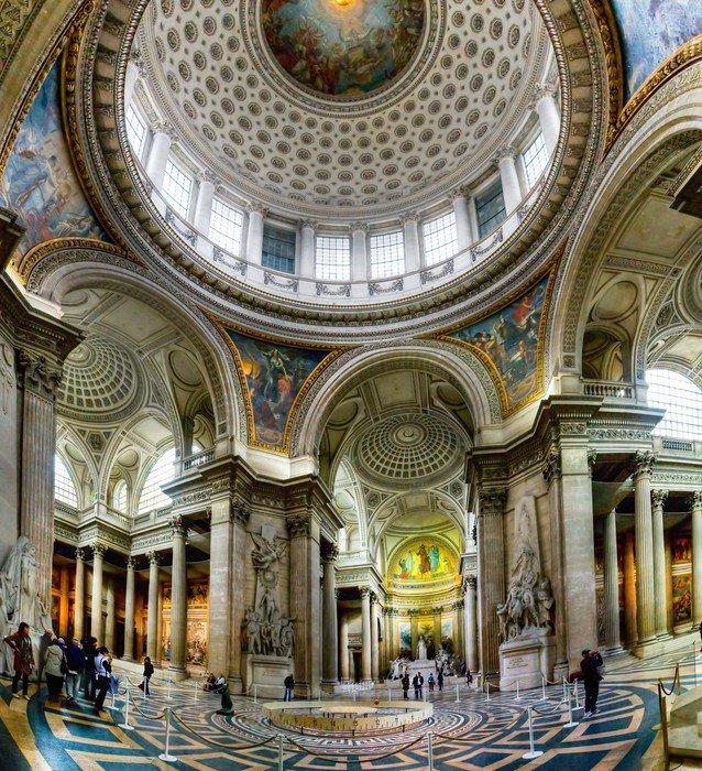 Carta da parati in vinile architettura antica del pantheon for Architettura a parigi