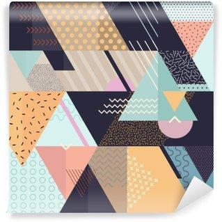 Carta da Parati Autoadesiva Art sfondo geometrico