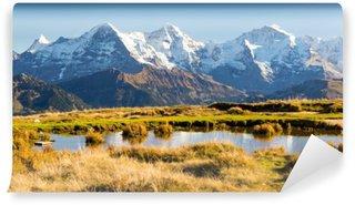 Carta da Parati Autoadesiva Eiger, mönch und jungfrau