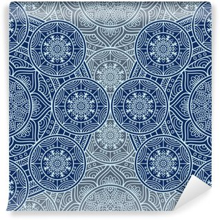 Carta da Parati Autoadesiva Ethnic floral seamless pattern