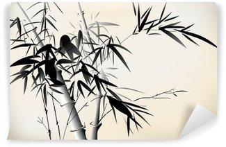 Carta da Parati in Vinile Bambù