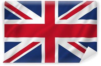 Carta da Parati in Vinile Bandiera britannica