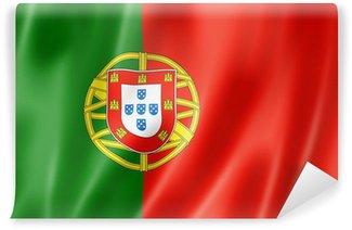 Carta da Parati in Vinile Bandiera portoghese