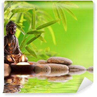 Carta da Parati in Vinile Buddha zen