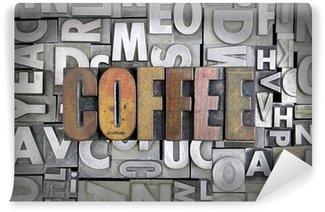 Carta da Parati in Vinile Caffè
