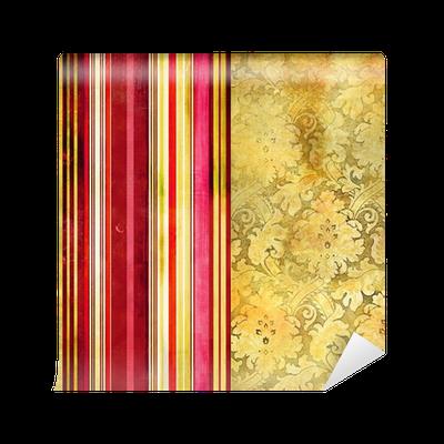 Carta da parati carta da parati con strisce decorative for Carta da parati a strisce