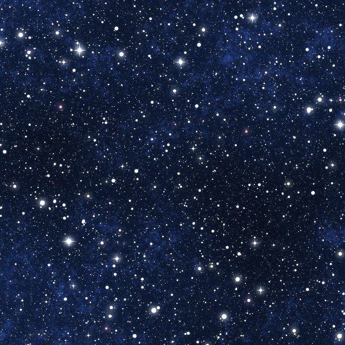 Carta da parati in vinile cielo stellato notturno pixers for Carta da parati vinile