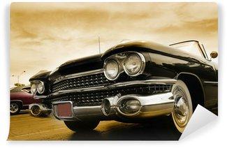 Carta da Parati in Vinile Classic Cars
