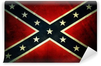 Carta da Parati in Vinile Confederate bandiera