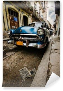 Carta da Parati in Vinile Cuba Vintage