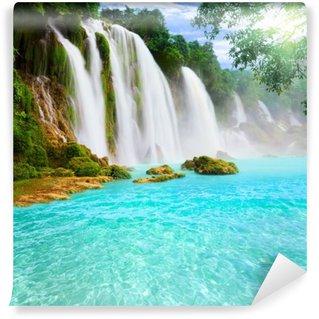 Carta da Parati in Vinile Detian cascata