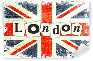 Carta da Parati in Vinile DRAPEAU ANGLAIS LONDRA