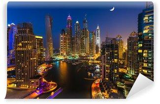 Carta da Parati in Vinile Dubai Marina, Emirati Arabi Uniti