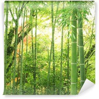 Carta da Parati in Vinile Foresta di bambù