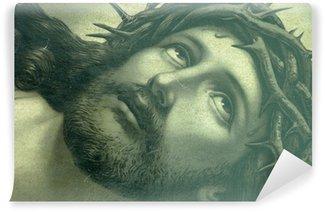 Carta da Parati in Vinile Gesù icona sguardo