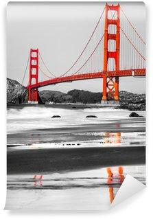 Carta da Parati in Vinile Golden Gate, San Francisco, California, USA.