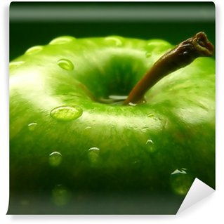 Carta da Parati in Vinile Green apple