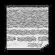 Carta da Parati in Vinile Handgezeichnetes Hintergrundmuster / Wellen
